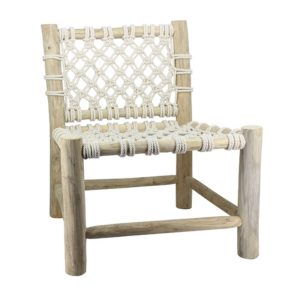 Chaise Lounge Macramé