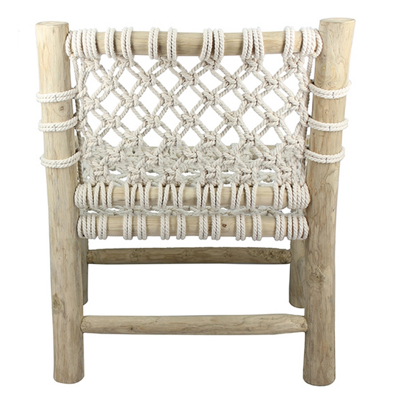 Chaise Lounge Macramé