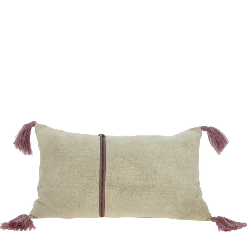 Coussin Beige AGRA