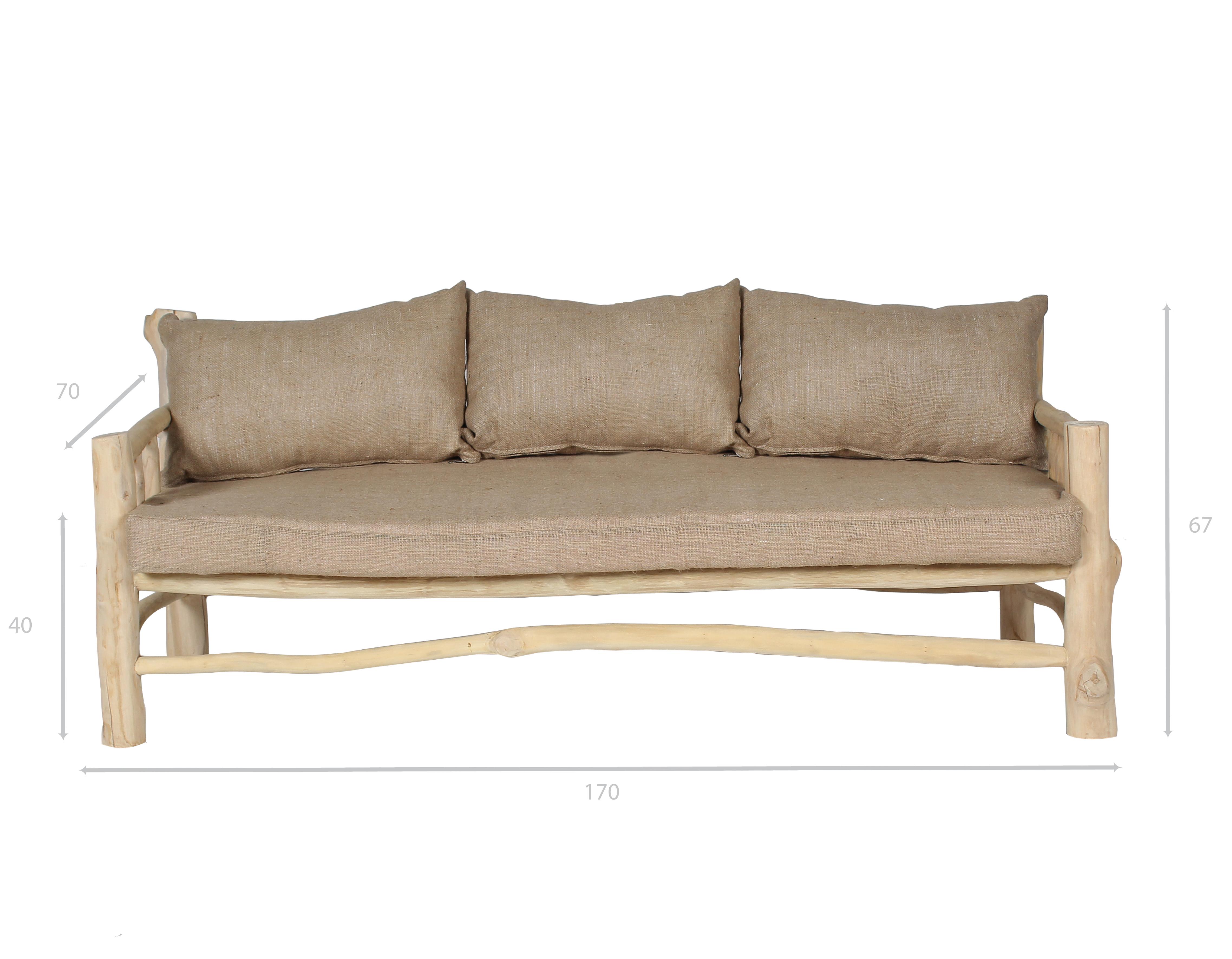 Canapé Burlap