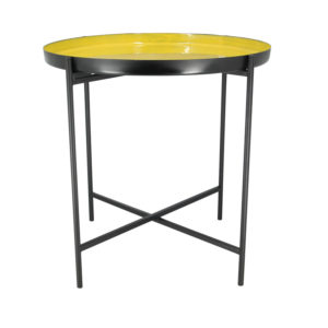 Table d'Appoint Jaune MANAL