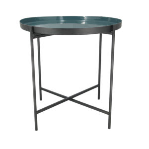 Table d'Appoint Bleue MANAL