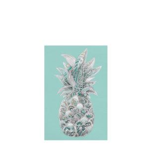 Litho Ananas Bleu ART