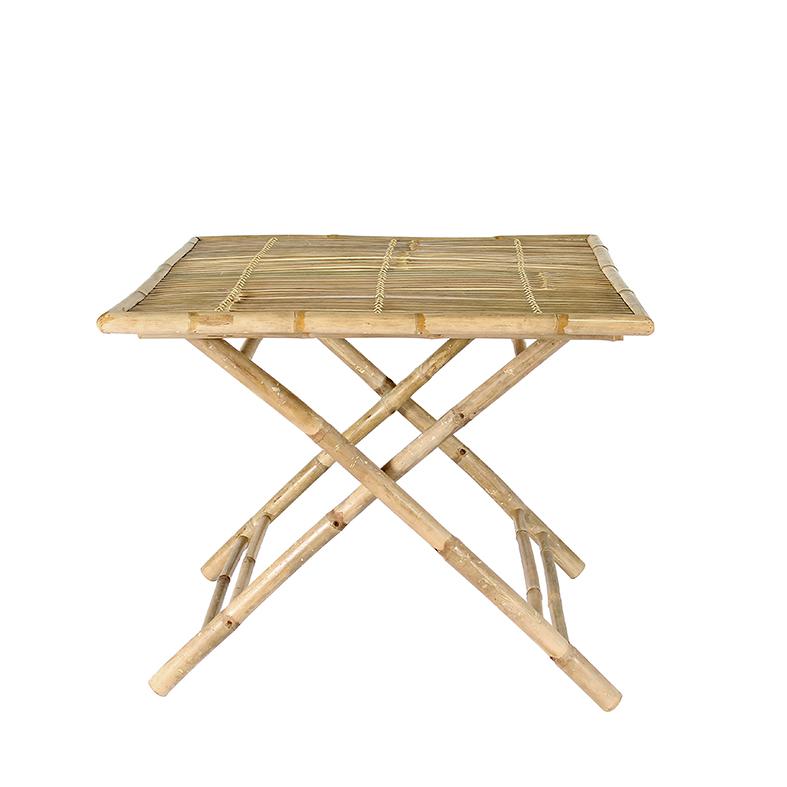 Table Carrée en Bambou BONDI