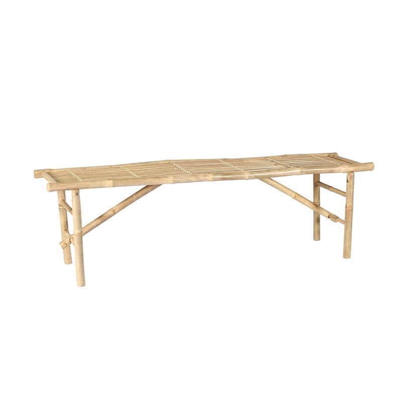 Ensemble Table et Bancs en Bambou BONDI