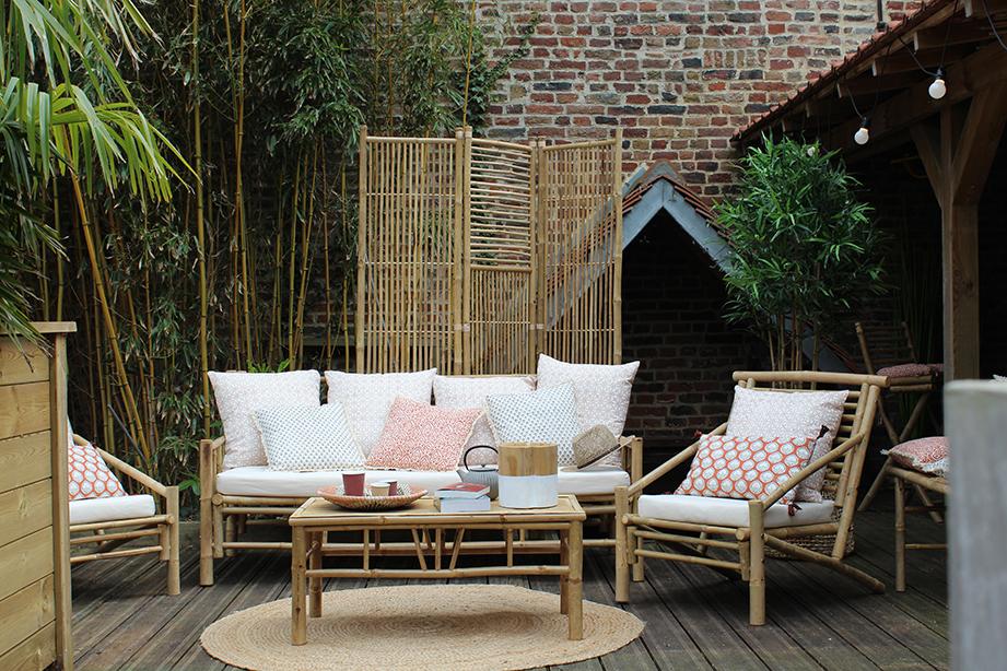 Table basse en bambou Bondi