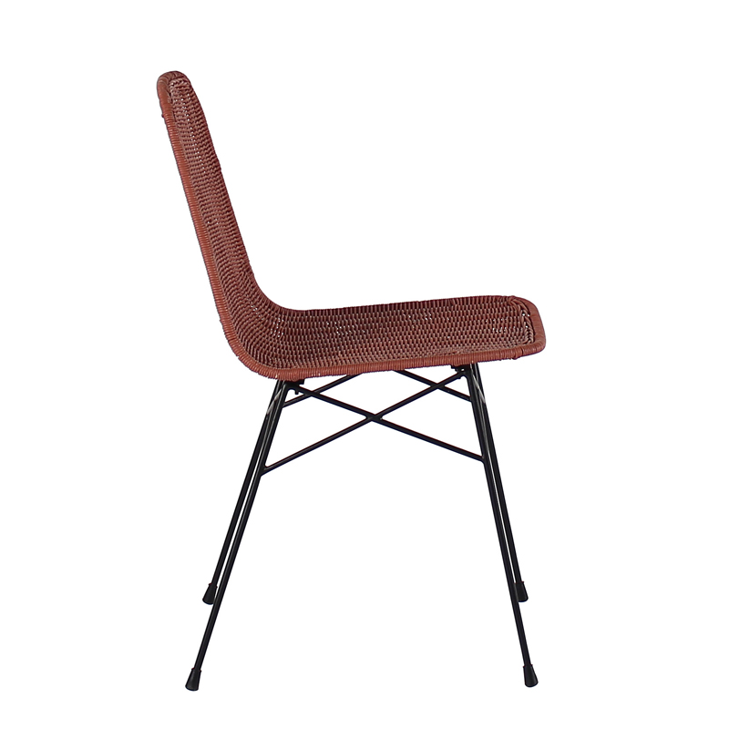 Ensemble de 4 Chaises Terracotta AGLAE