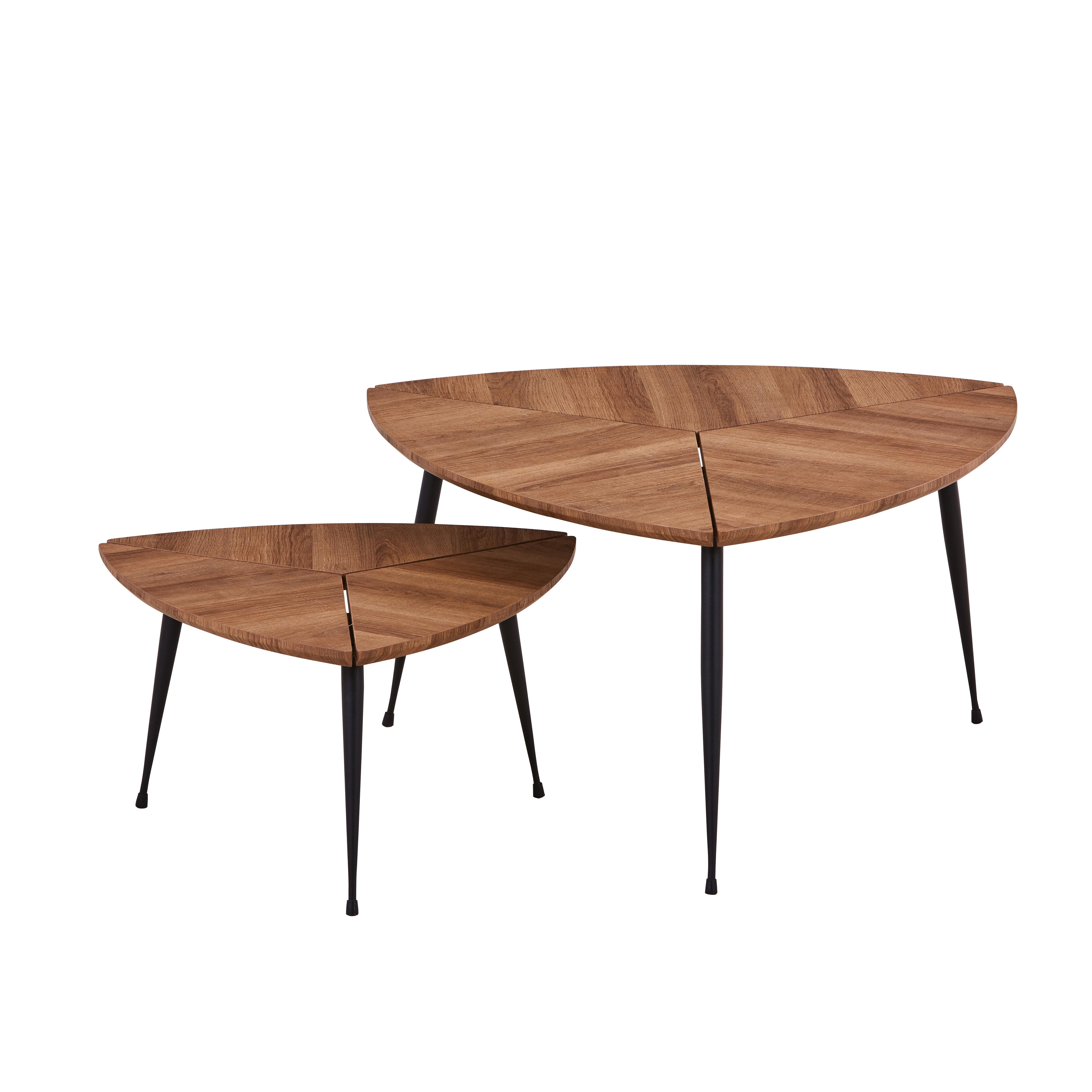 Ensemble de 2 Tables Basses COBRA