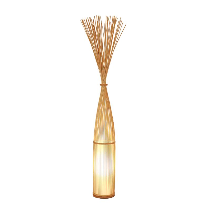 Lampadaire en Bambou Naturel NEST