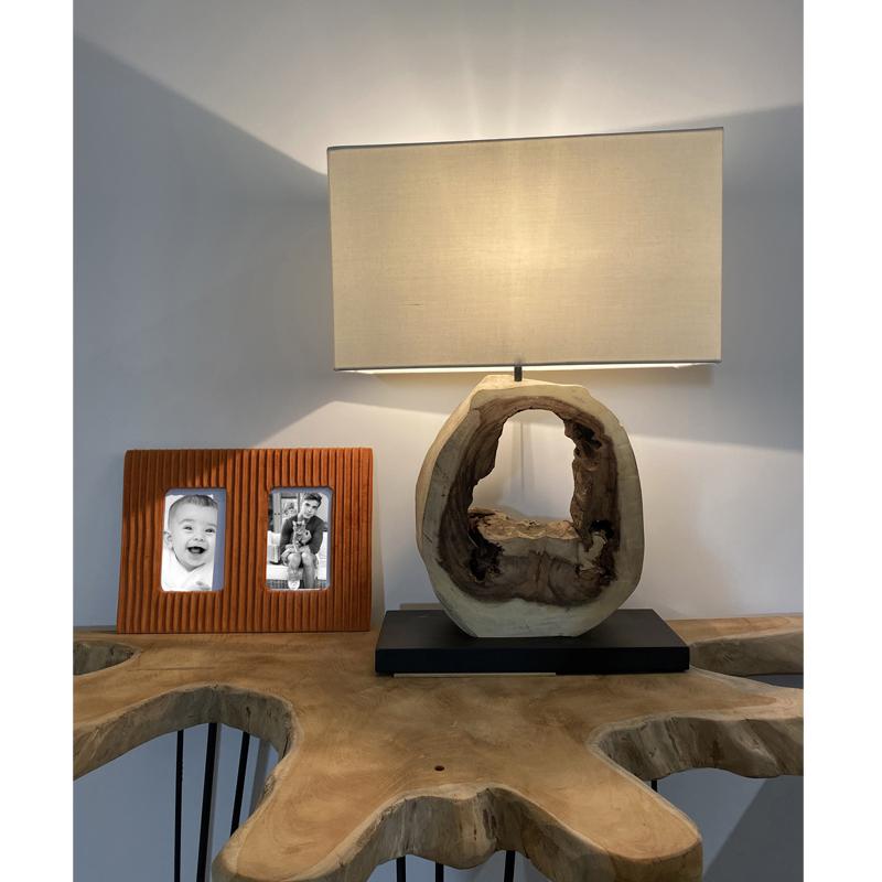 Cadre Photo en Velours Terracotta VRILLE Ambiance