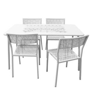 Ensemble Table BARI et Chaises PONZA