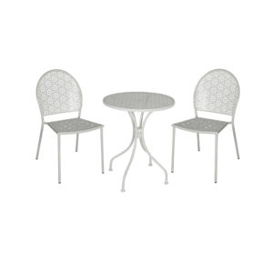 Ensemble Table et Chaises Blanche PONZA