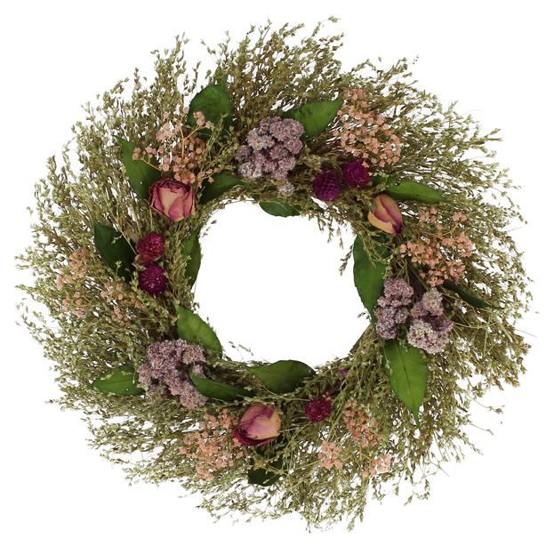 Couronne de Fleurs Séchées Ø35 cm