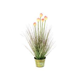 Plante Artificielle graminée fleurie