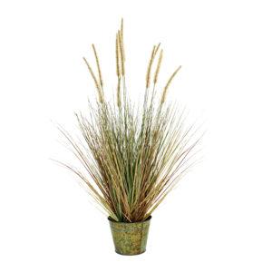 Plante Artificielle pennisetum fleurie